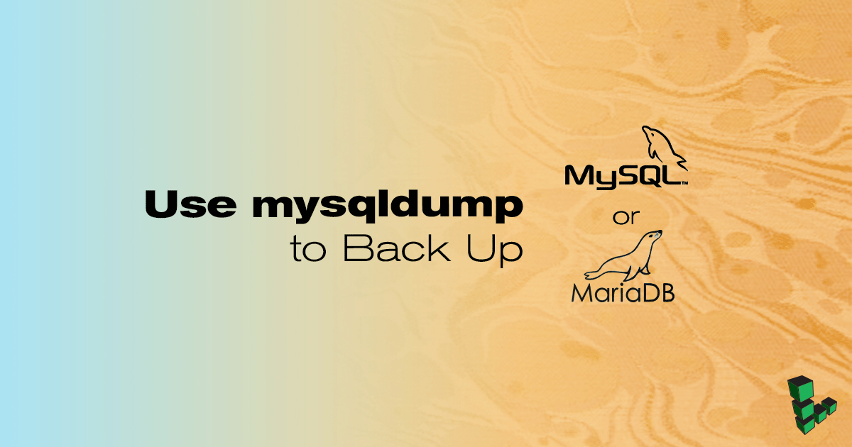 Backup and Restore MySQL or MariaDB Database on Linux Server