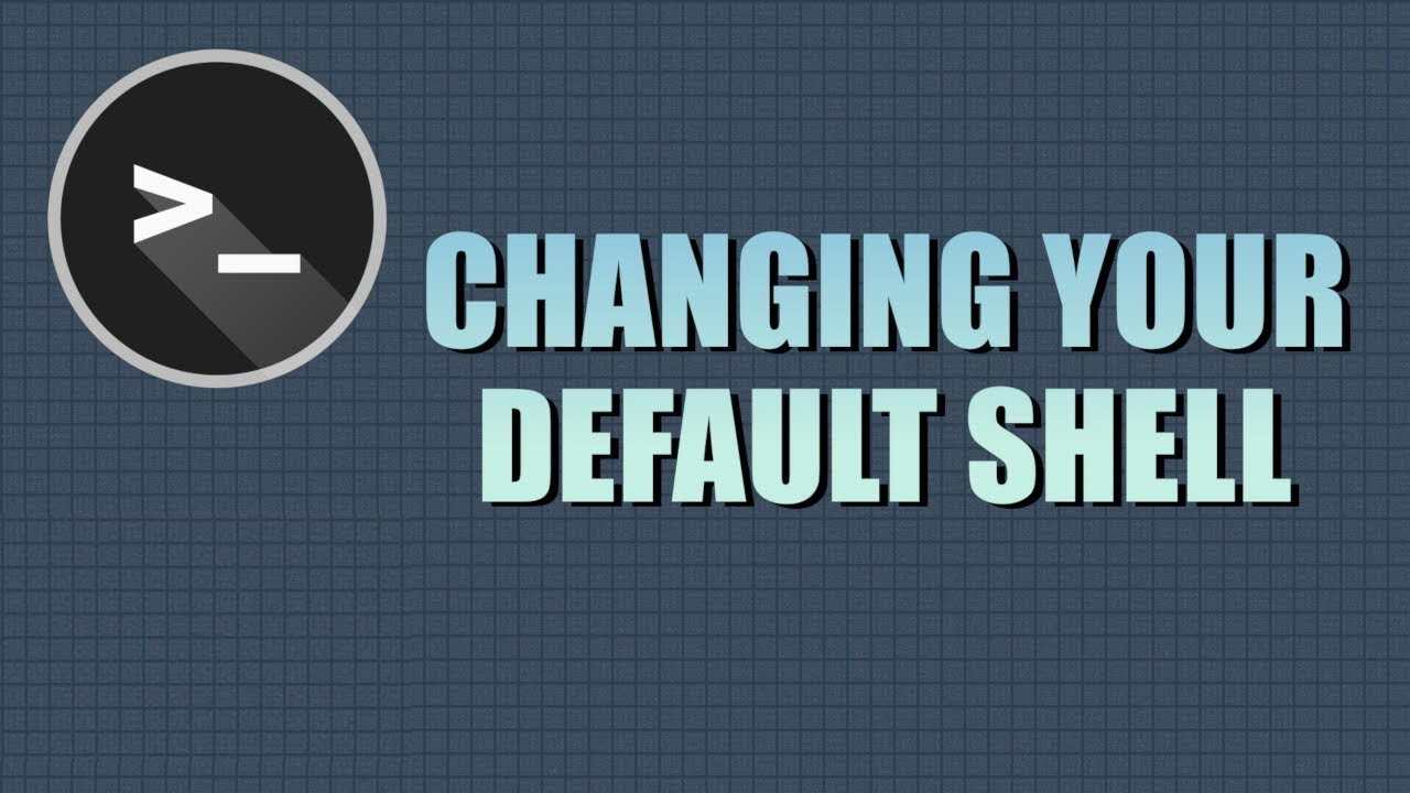 How to change default shell in Linux