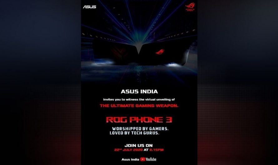 Asus Is All Set To Launch The Powerful Gaming Phone ROG-3 In India
