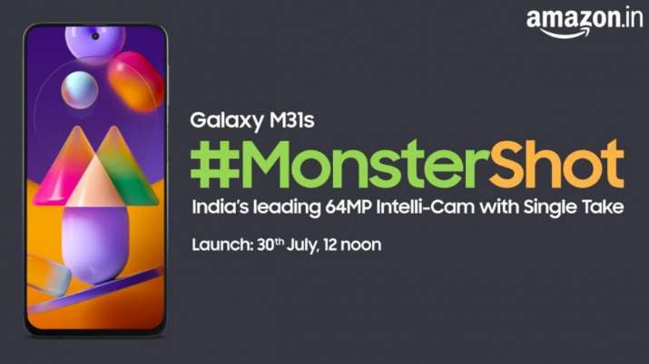 Samsung Galaxy M31 S Will Be Soon Launched In India