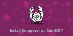 install-composer-on-centos-7