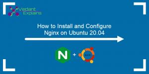 how to install nginx web server on Ubuntu 20.04