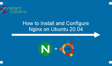 how to install nginx web server on Ubuntu 20.04